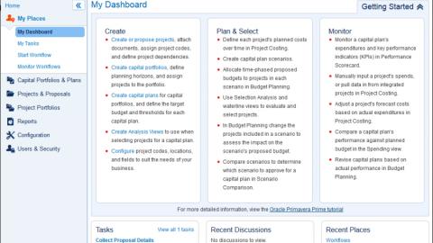 Oracle Primavera Prime Capital Plan Management — управление капиталовложениями
