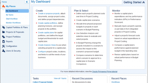 Oracle Primavera Prime Capital Plan Management – управление капиталовложениями